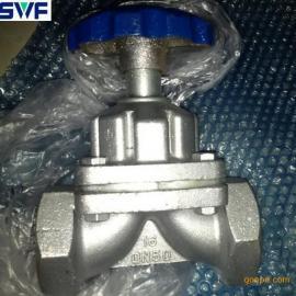 G11W内罗纹隔阂阀,手动内罗纹隔阂阀