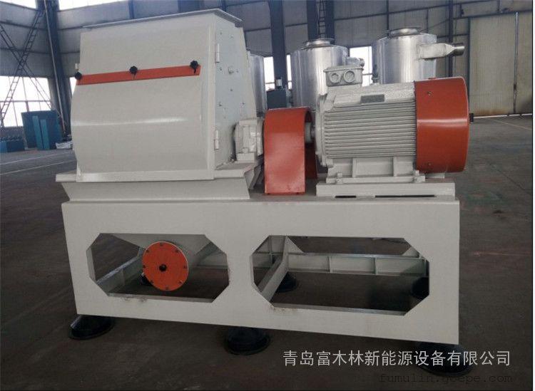 长纤维粉体磨粉机 富木林木塑配套磨粉设备供应商 木粉机