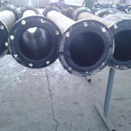 湖南脱硫衬胶管道供应商家,防腐耐磨衬胶管道