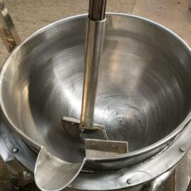 供应电加热蒸煮锅,燃气加热搅拌夹层锅,凉粉全自动熬制锅
