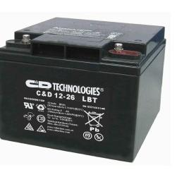 《推�]》西恩迪蓄�池C&D2-1000LBT�力�δ�