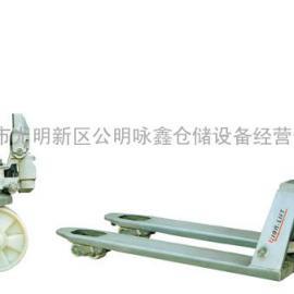 全不锈钢托盘搬运车深圳惠州销售