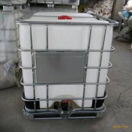 一诺自产自销1吨食品塑料桶1000升绿色环保无毒无味酒精塑料罐IBC