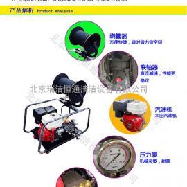 汽油驱动高压水管道疏通机RJHT-300型