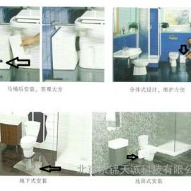 北京泰克马 泽尼特马桶污水提升器销售专业施工安装公司电话