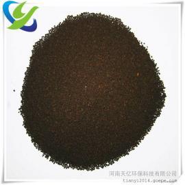 赣州地下水处理锰砂滤料、3-5mm锰砂滤料厂家