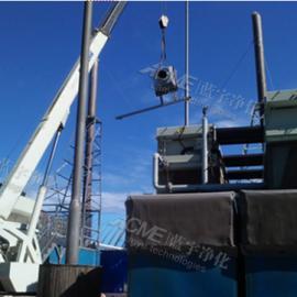 万纯生活垃圾沼气发电机组烟气净化设备 沼气发电机组SCR脱硝