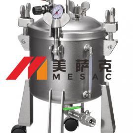 液位显示点胶机压力桶 液位显示点胶机气动压力桶