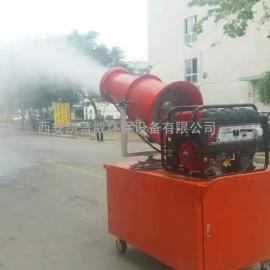 陕西砂石厂用水雾除尘喷雾机凯普威厂家现货可售可租