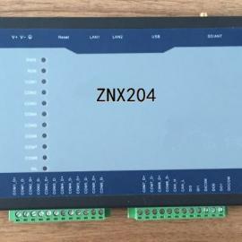 2网口8串口IPAD大小的通信管理规约转换装置