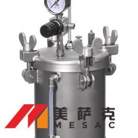 4升喷涂压力桶 4升不锈钢喷涂压力桶 气动压力罐
