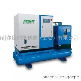 无锡德耐尔全性能一体空压机价格//锡山德耐尔一体空压机厂家