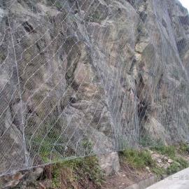 贵阳主动防护网 重庆GPS山体防护网:专用山体加固安全钢丝绳网