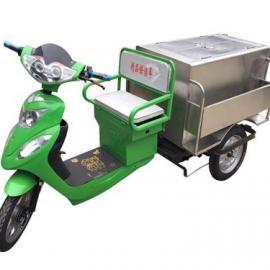优盛美天津环卫不锈钢保洁车绿色佳人