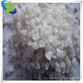 冶金行业用石英砂滤料、广西精制石英砂滤料厂家