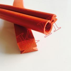 耐高温硅胶密封条 透明耐酸碱硅胶条