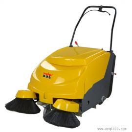 手推式双刷电瓶扫地机威德尔工业用扫地机CS-800