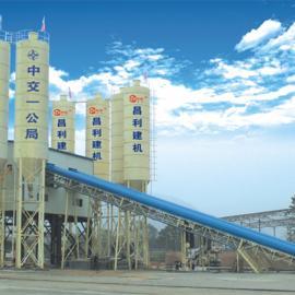昌利建机HZS75混凝土搅拌站设备价格
