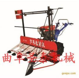 玉米秸秆收割机 全自动自带动力型割晒机