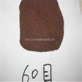 喷砂除锈用金刚砂、0.5-1mm金刚砂滤料厂家