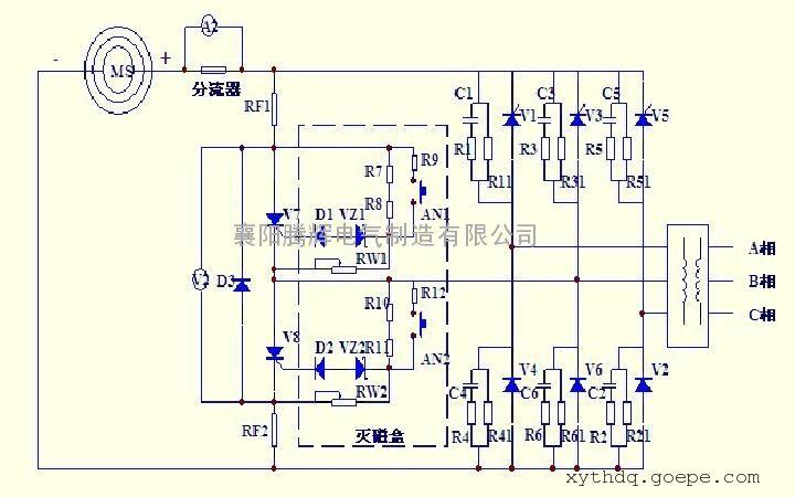 环保型kgl系列同步电机励磁柜 触摸屏式励磁柜