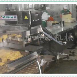 节能高效【A级】XY6不锈钢网带输送豆干卤制生产线 效率高