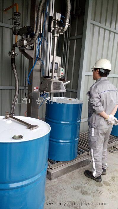 上海广志GZM-200L润滑油液体灌装机