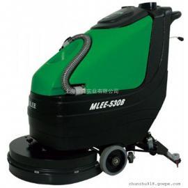 汽车4S店保洁用洗地机室内球场用电动洗地机大面积用洗地机