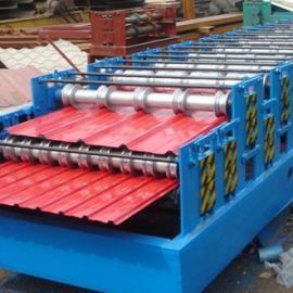 诚笃轴900/910双层彩钢压瓦机彩钢设备