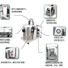 移动式专用车间吸尘器 磨床除尘器