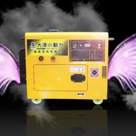 双缸300A静音柴油发电电焊机