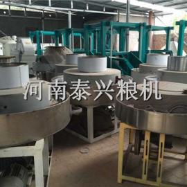 电动石磨面粉机—首选河南泰兴石磨电动石磨面粉机
