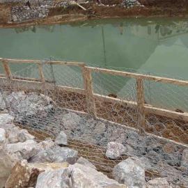 兰州黄河堤坝5%-10%镀锌石笼网箱/嘉峪关锌铝合金格宾网