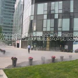 四川户外广场/景区喷雾降温厂家供应/全自动环保喷雾降温设备