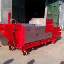垃圾脱水挤压机 大产量茶叶脱水压榨机 大型螺旋压榨机