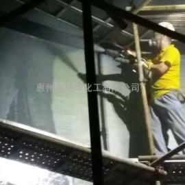 惠州电厂聚脲涂料施工除盐水箱内壁防腐