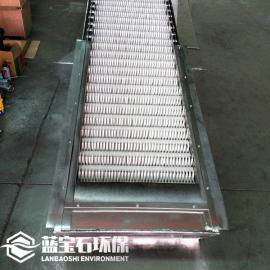 回转式格栅除污机拦污机 固液筛分 碳钢机架尼龙耙齿