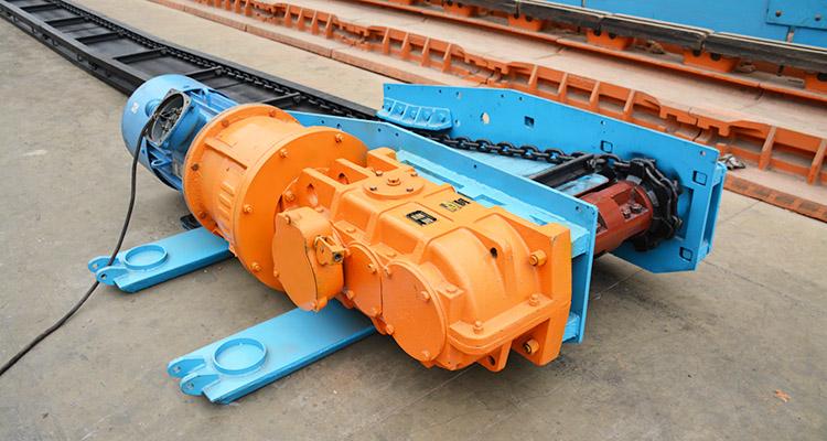 30刮板输送机 输送量: 80t/h 设计长度: 100m 链条速度: 0.