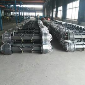 梁山厂家直销各种轮距美式车轴 13吨加宽片富华桥