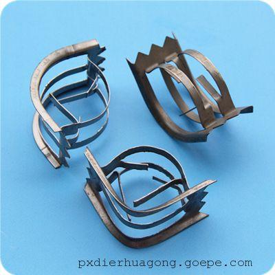 萍乡迪尔化工生产金属矩鞍环、25 38mm石油化工矩鞍环