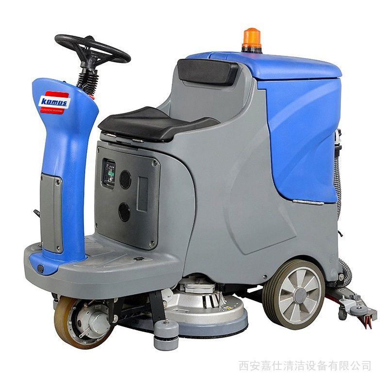 环氧地坪洗地机|环氧地面电瓶式全自动清洗机