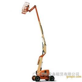 珠海曲臂式高空作业车出租,美国进口,工作安全稳定