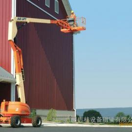 汕头曲臂式高空作业车出租,美国进口,安全稳定