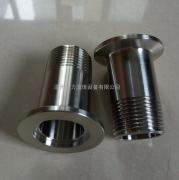 304不锈钢真空外丝 数控一体式kf快装外丝接头厂家直销
