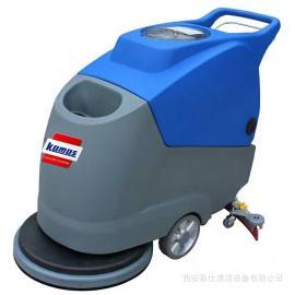 地下停车场洗地机|车库水泥环氧地面电动电瓶全自动洗地机设备
