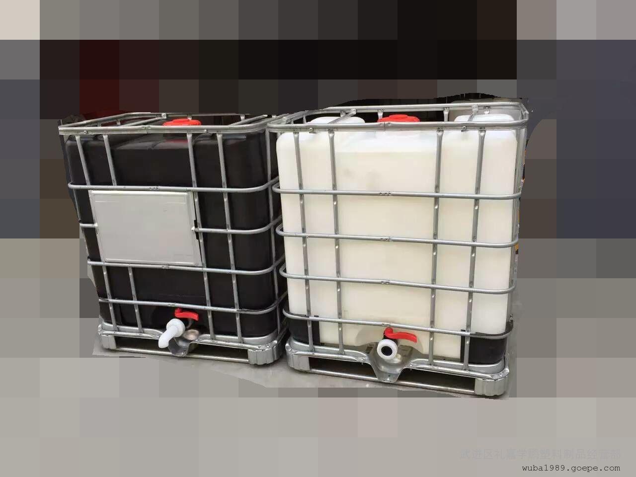 供应500l防腐抗渗pe吨桶塑料桶厂家直销