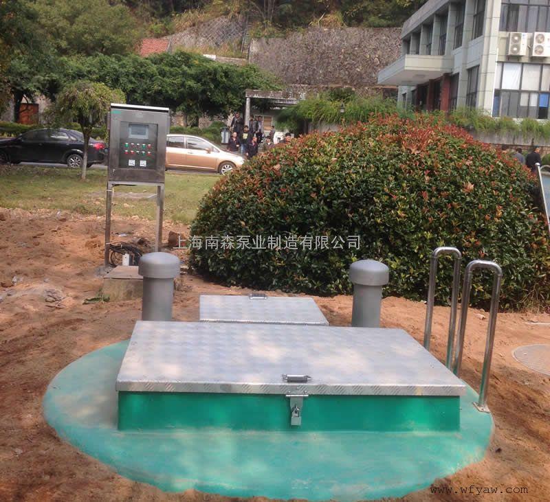 13米玻璃钢一体化预制泵站