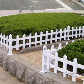 海绵城市建设PVC塑料围栏,园林护栏