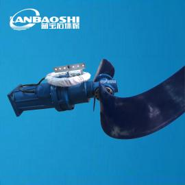 潜水推流器1.5kw配1100mm叶轮强化玻璃钢推进器叶轮
