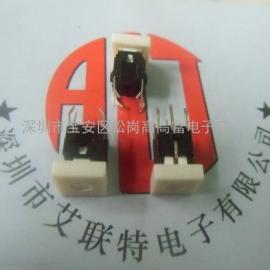TS-036 6x6按钮轻触开关(带灯-红灯+四只弯脚)